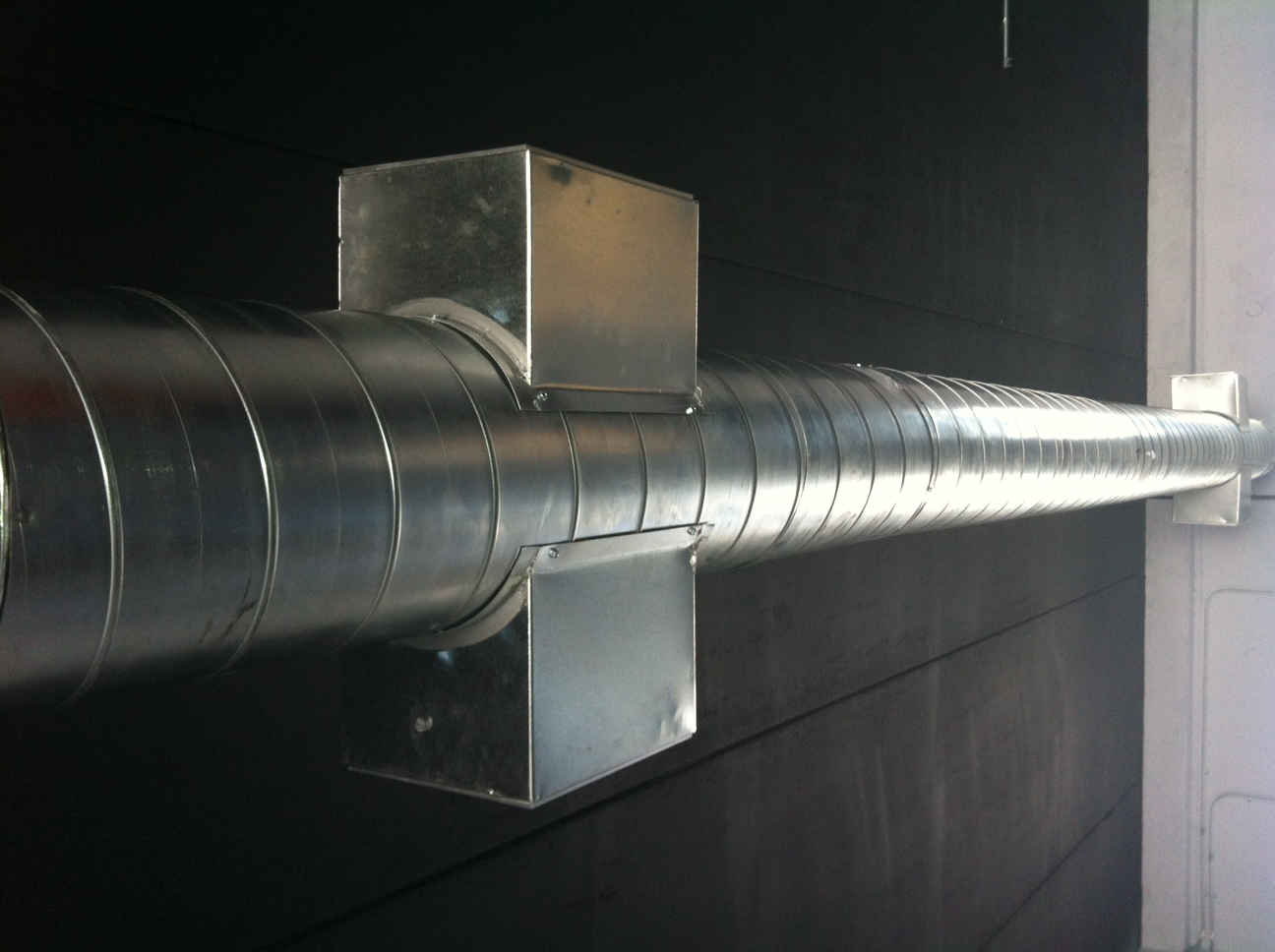 Exposed Spiral Duct : Spiral ductwork for your next project