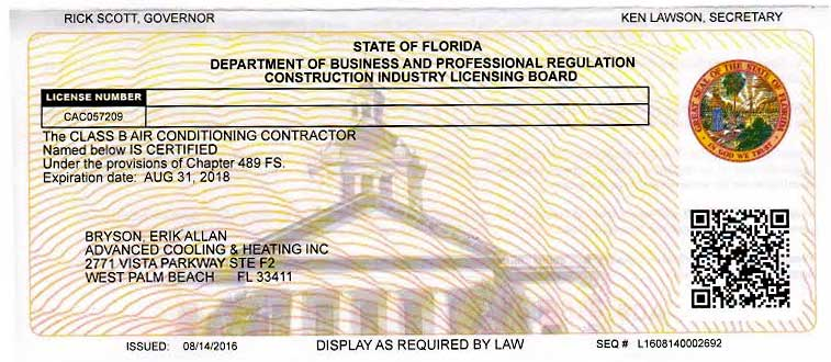In South Florida Only Licensed Professionals Should Be