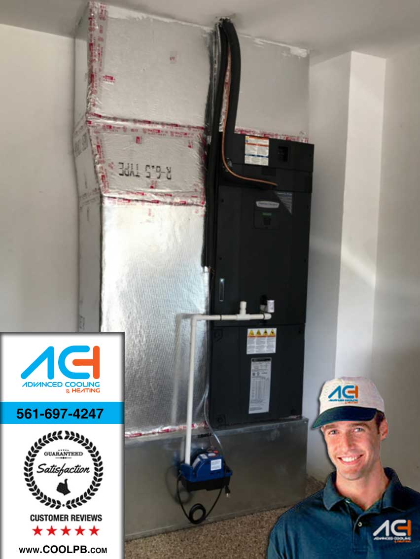 advanced cooling heating inc west palm beah - Garage Ac