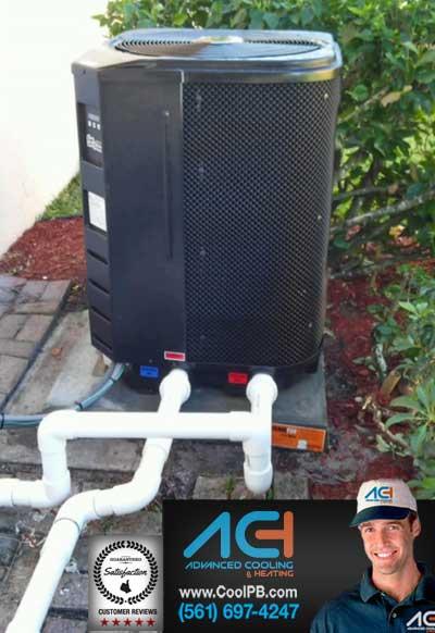 Swimming Pool Heater Electric Heat Pump Advanced