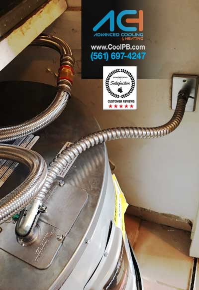 We Install Water Heaters Advanced Cooling And Heating Inc